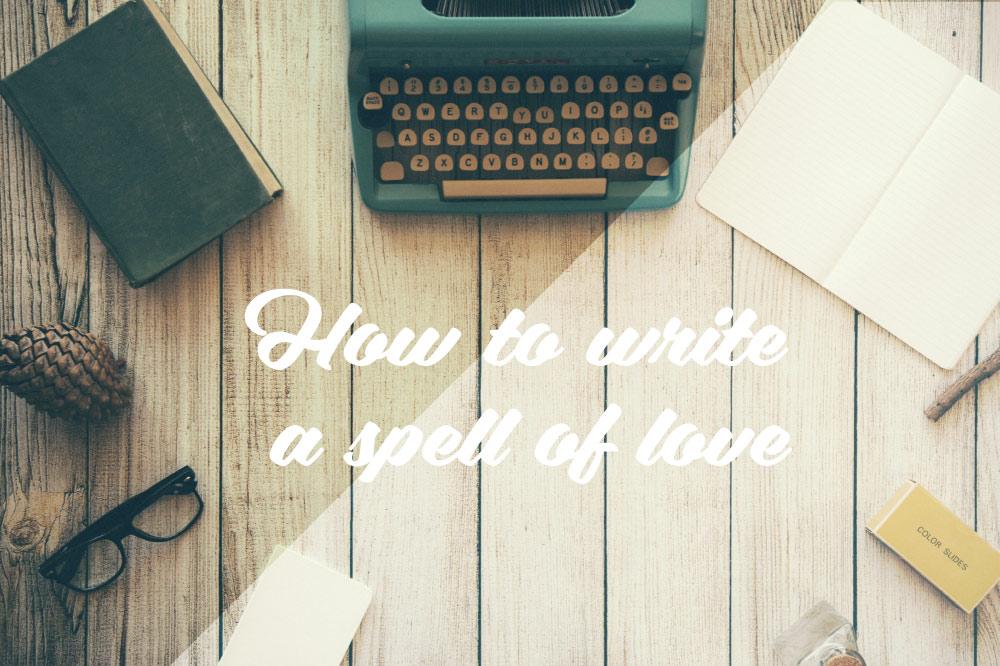 Mächtigen Liebeszauberspruch selbst erstellen