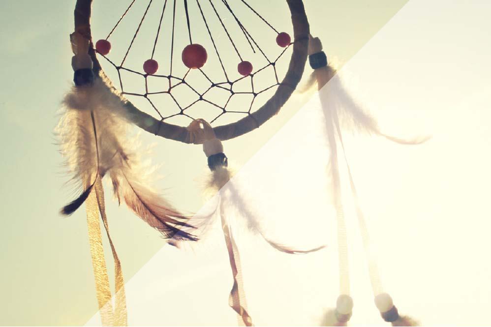 Traumfänger im Wind