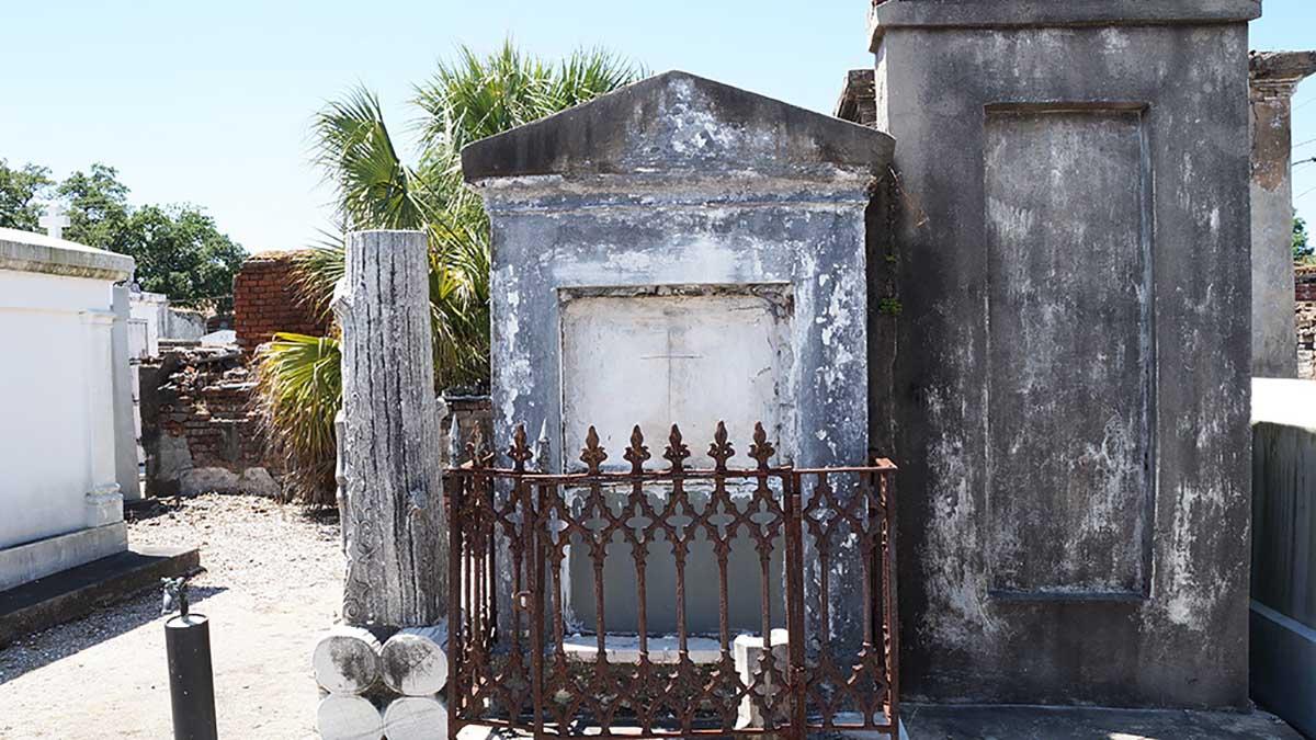 Gräber des Lafayette Cemetry Nr 1 in New Orleans
